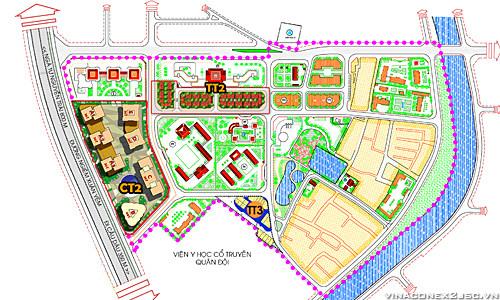 Liền kề TT2, TT3 dự án Kim Văn Kim Lũ