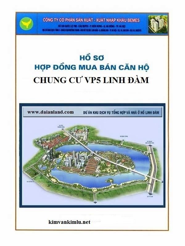 Hợp đồng chung cư VP6 Linh Đàm