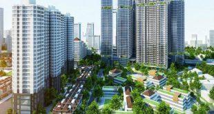Cảnh quan khu đô thị Kim Văn Kim Lũ nhìn từ trên cao