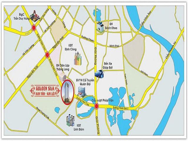 Tiềm năng về vị trí của dự án khu đô thị Kim Văn Kim Lũ