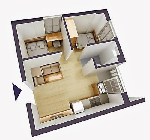 thiết kế căn hộ chung cư VP6 Linh Đàm