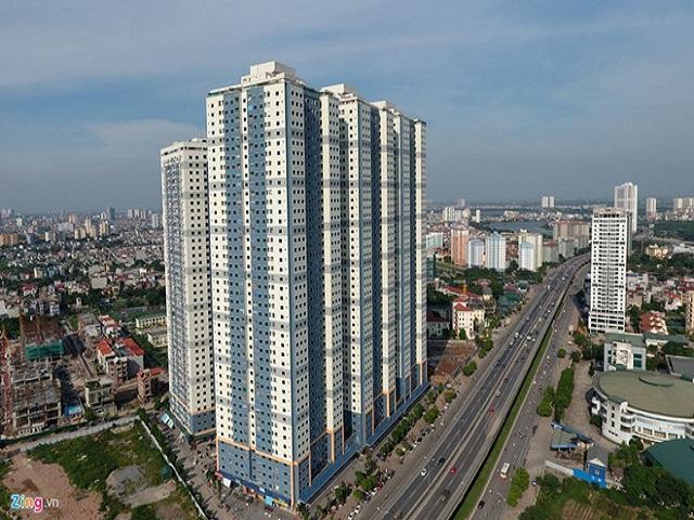 Tòa C là hạng mục xây dựng trong khu đô thị Kim Văn Kim Lũ