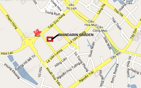 vị trí chung cư mardarin garden